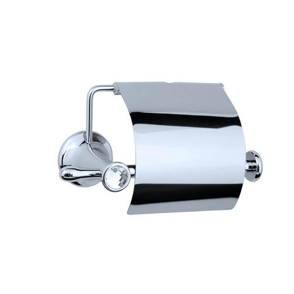 Фото - Держатель туалетной бумаги с крышкой Boheme Puro 10701 Хром держатель туалетной бумаги gemy xga60058t хром