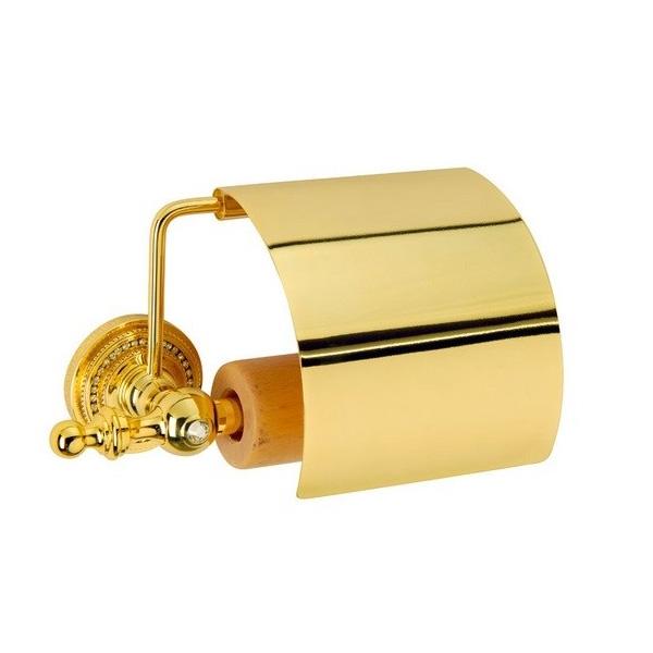 Держатель туалетной бумаги с крышкой Boheme Imperiale 10401 Золото коляска carrello magia crl 10401 sea green