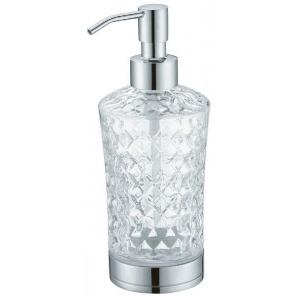 Фото - Дозатор для жидкого мыла Boheme 10223 Хром дозатор для жидкого мыла siesta настенный хром сатин