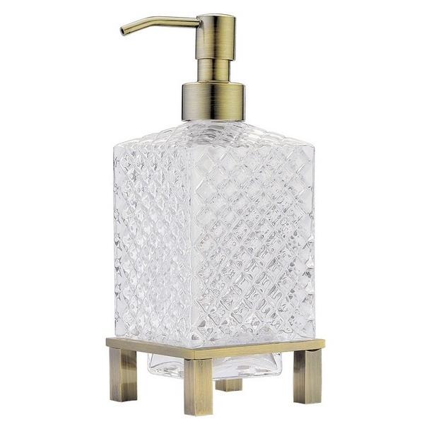 Фото - Дозатор для жидкого мыла Boheme 10224 Бронза дозатор для жидкого мыла paulmark rein бронза d002 br