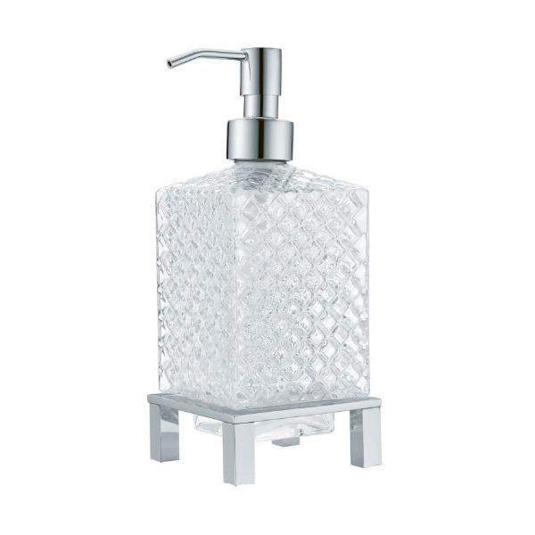 Фото - Дозатор для жидкого мыла Boheme 10226 Хром дозатор для жидкого мыла siesta настенный хром сатин