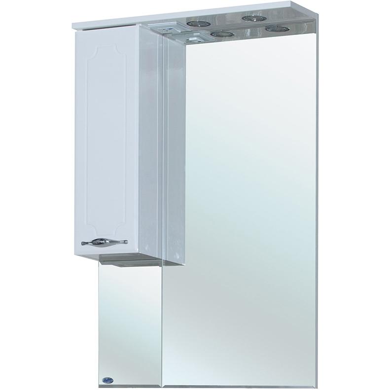 Зеркало со шкафом Bellezza Стелла 65 с подсветкой R Белое