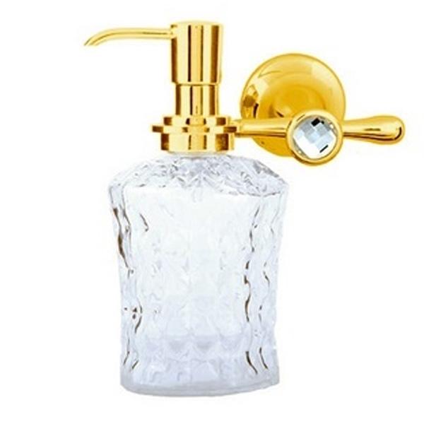 Дозатор для жидкого мыла Boheme Chiaro 10515 Золото