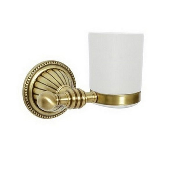 Стакан для зубных щеток настенный Boheme Hermitage 10323 Бронза стакан для зубных щеток boheme chiaro 10504 золото