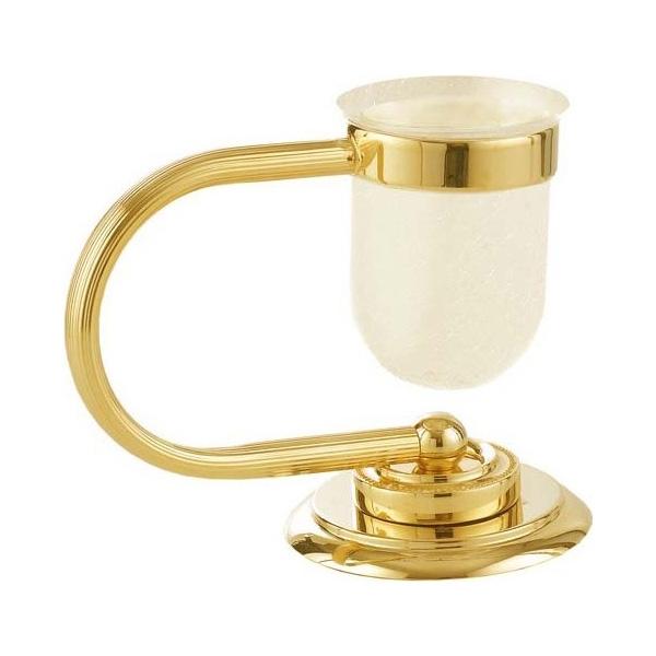 Стакан для зубных щеток Boheme Murano 10911-G Золото стакан для зубных щеток boheme chiaro 10504 золото