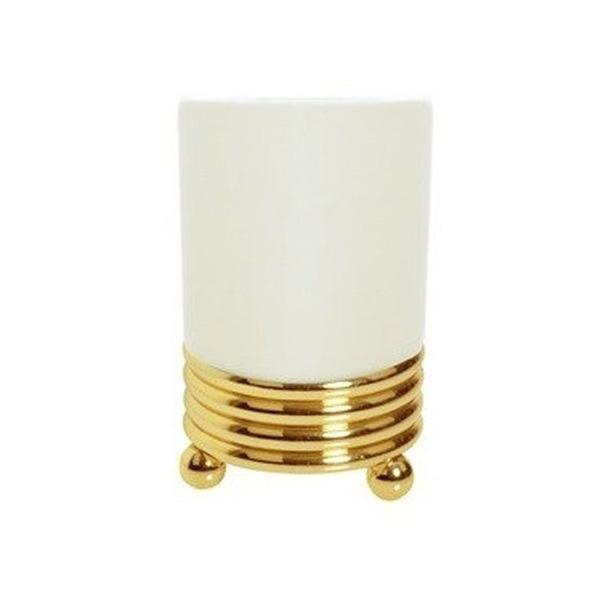 Стакан для зубных щеток Boheme Hermitage 10361 Золото стакан для зубных щеток boheme chiaro 10504 золото