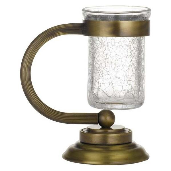 Стакан для зубных щеток Boheme Murano 10911-BR Бронза стакан для зубных щеток boheme palazzo nero 10154 золото