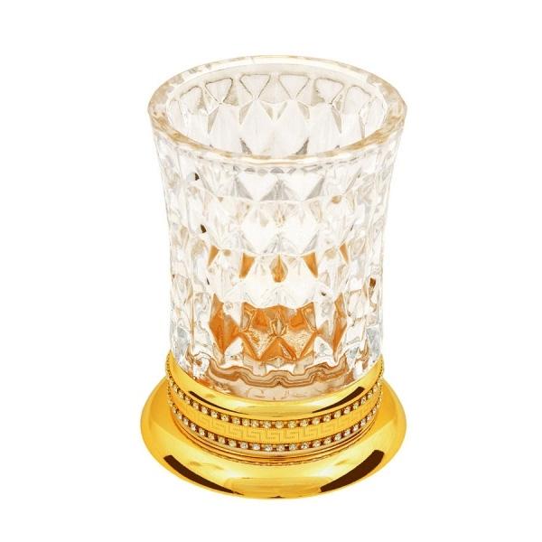Стакан для зубных щеток Boheme Imperiale 10412 Золото стакан для зубных щеток boheme chiaro 10504 золото