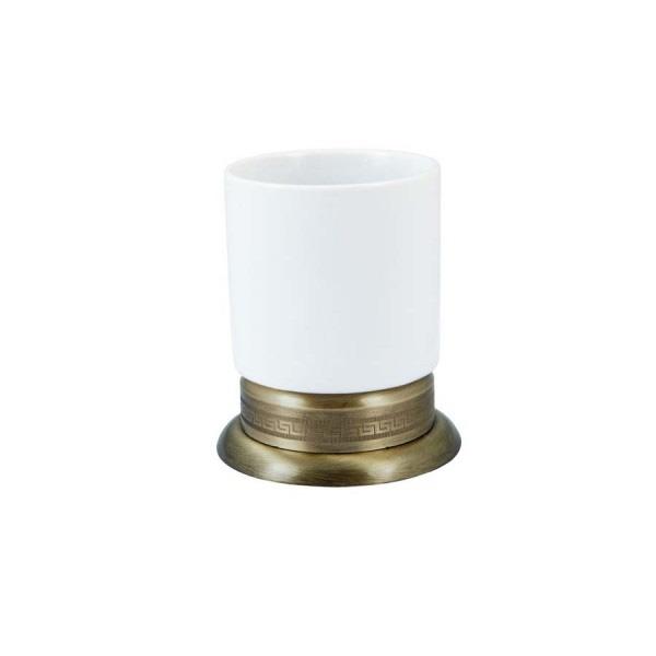 Стакан для зубных щеток Boheme Medici 10612 Бронза стакан для зубных щеток boheme chiaro 10504 золото