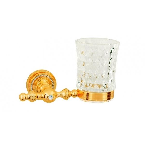 Стакан для зубных щеток Boheme Imperiale 10404 Золото стакан для зубных щеток boheme chiaro 10504 золото