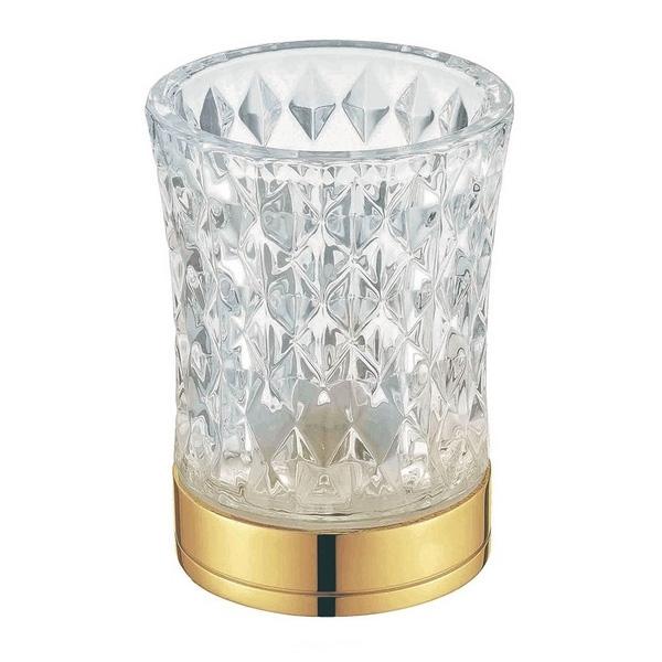 Стакан для зубных щеток Boheme 10212 Золото стакан для зубных щеток boheme chiaro 10504 золото