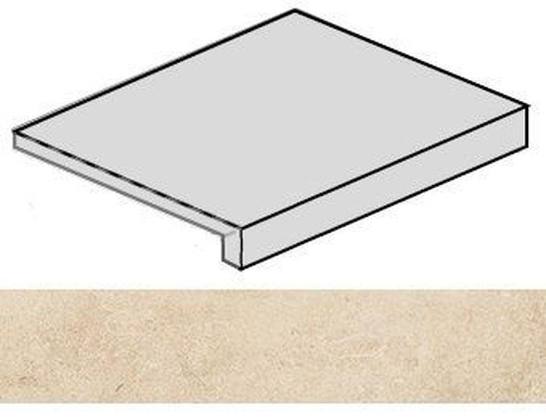 Ступень угловая Italon Room Beige Stone правая 620070001220 33х60 см ступень угловая dvomo tera правая 33х67 5 см