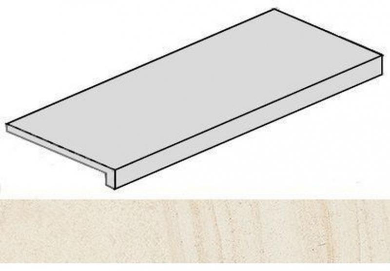Ступень фронтальная Italon Room White Stone 620070001227 33х120 см the white stone