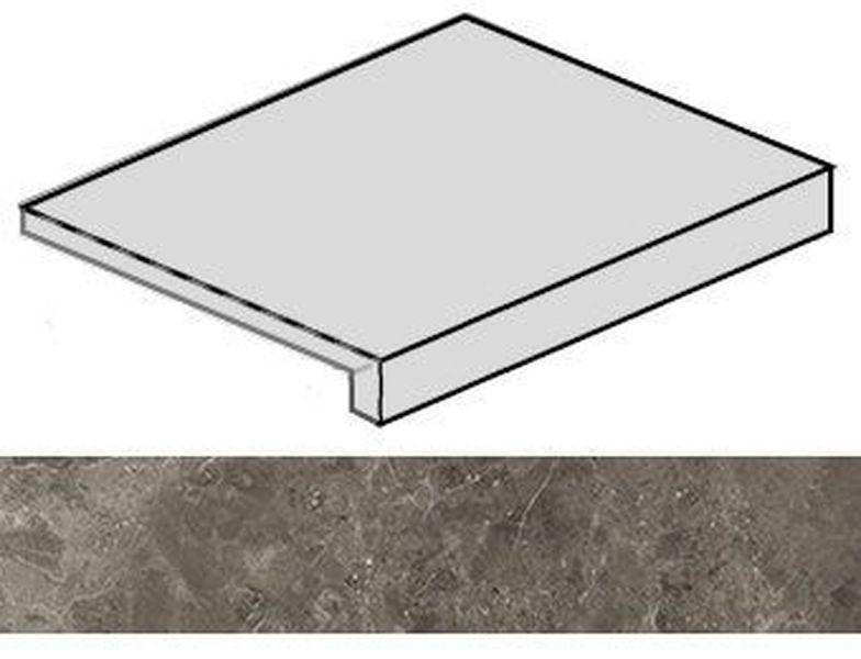 Ступень фронтальная Italon Room Grey Stone 620070001217 33х60 см