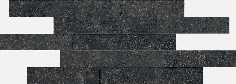 Керамическая мозаика Italon Room Black Stone Brick 3D 620110000103 28х78 см