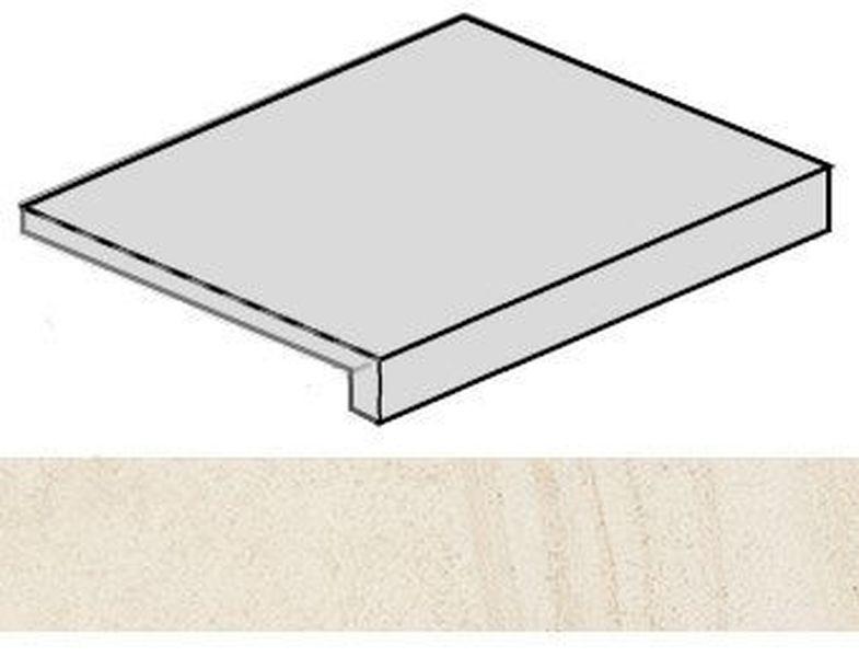 Ступень фронтальная Italon Room White Stone 620070001216 33х60 см