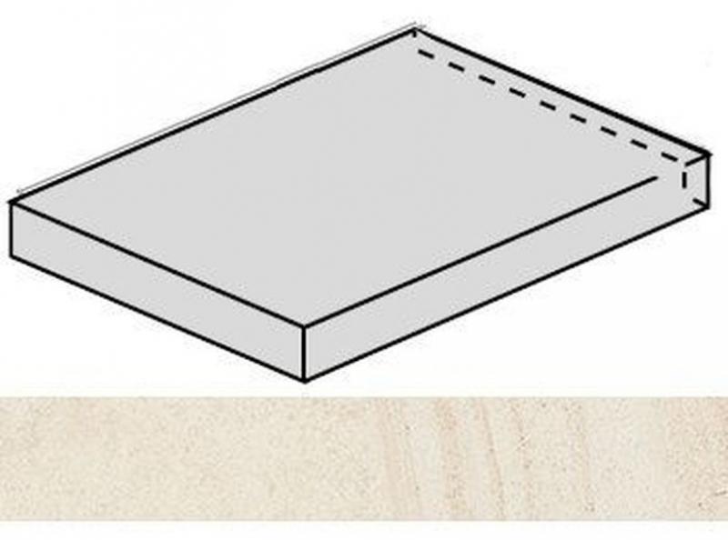 Ступень угловая Italon Room White Stone левая 620070001223 33х60 см плинтус italon maison fume 7 2х60 см