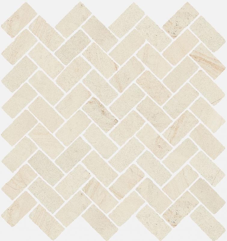 Керамическая мозаика Italon Room White Stone Cross 620110000096 29,7х31,5 см