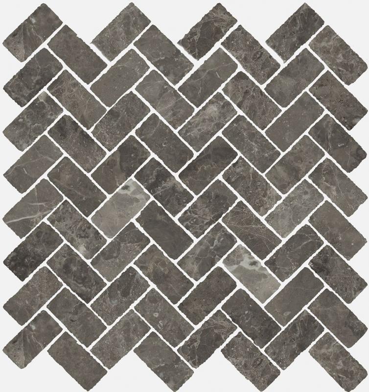 Керамическая мозаика Italon Room Grey Stone Cross 620110000098 29,7х31,5 см