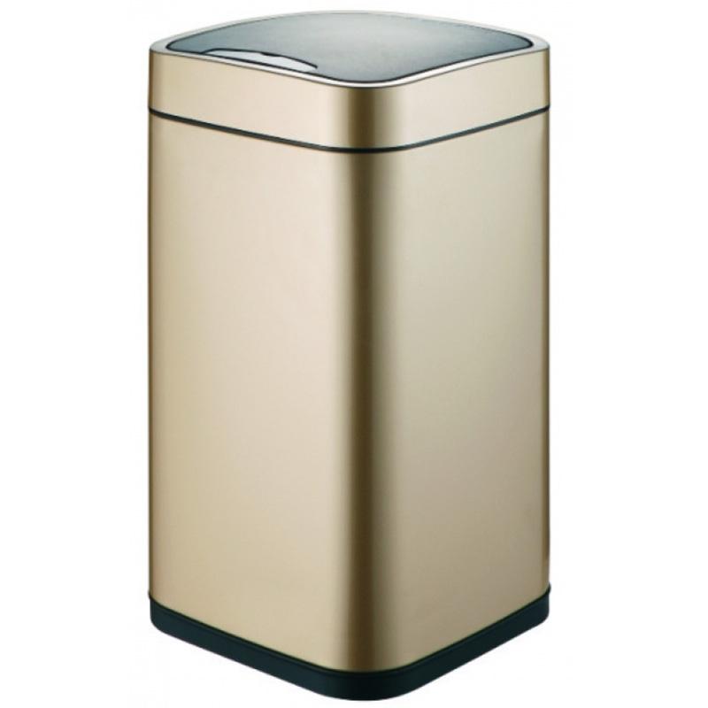 Ведро для мусора WeltWasser Rone CG 9L сенсорное 10000000878 Шампань Золото фото