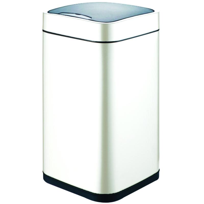 Ведро для мусора WeltWasser Rone WT 9L сенсорное 10000001054 Белое фото