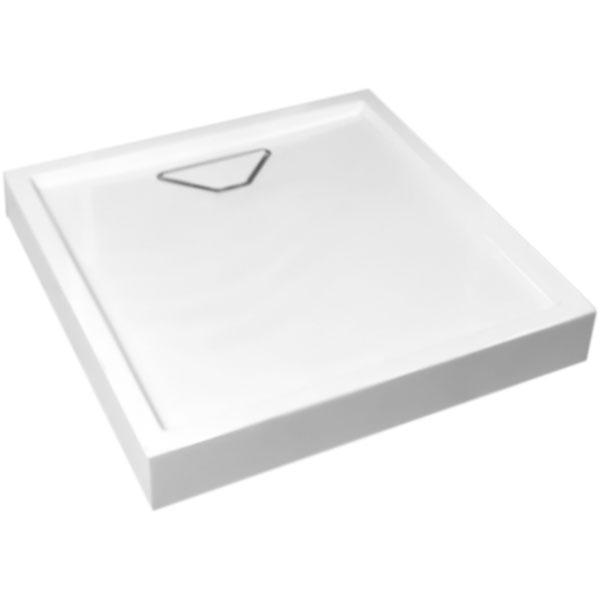 цена на Душевой поддон из искусственного камня WeltWasser WFS 80x80 10000002897 Белый