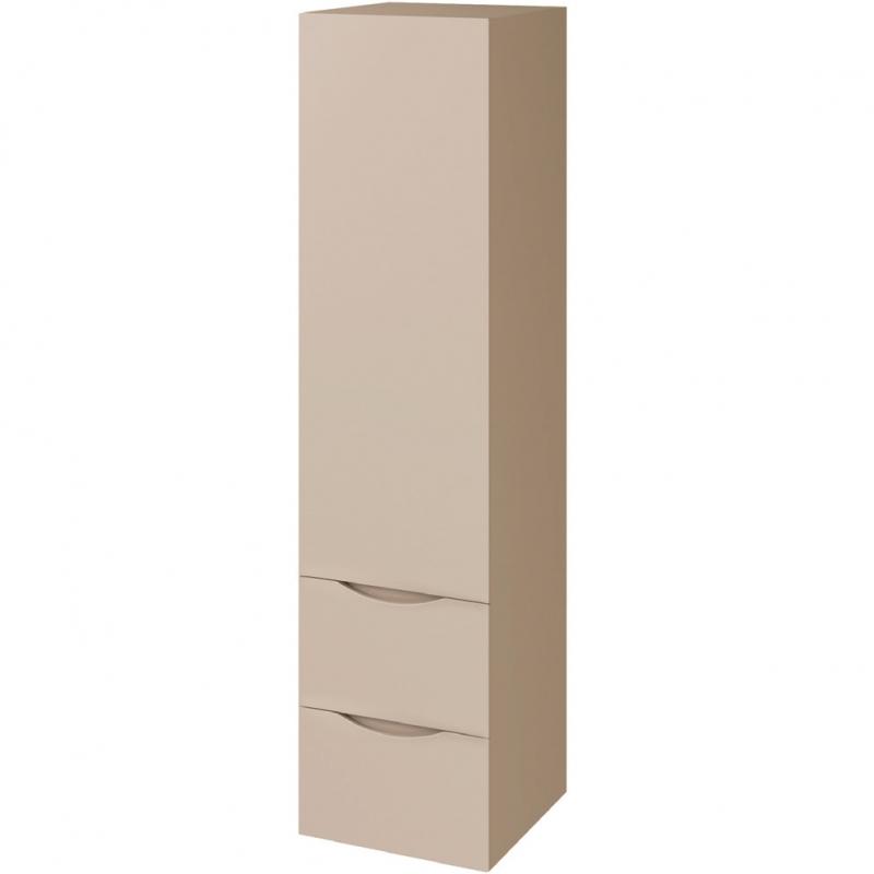 Шкаф пенал Bellezza Санриса 35 подвесной Белый шкаф пенал bellezza рокко 35 подвесной красный белый
