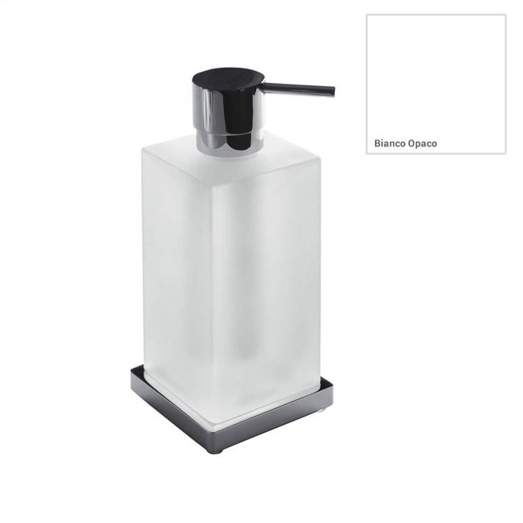 Дозатор для жидкого мыла Colombo Design Look B9317.RRO Белый матовый хром фото