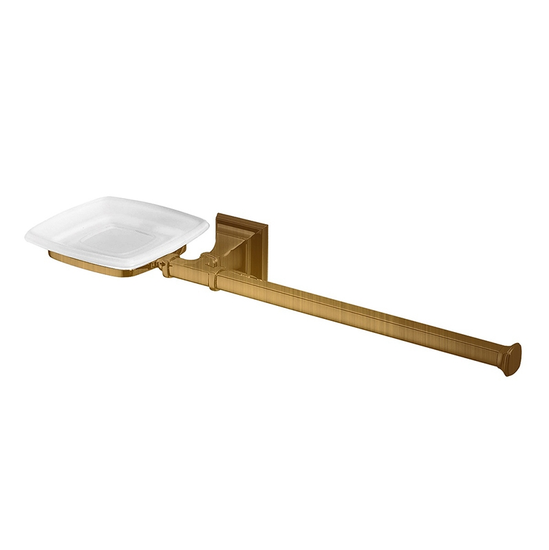 Полотенцедержатель + мыльница Colombo Design Portofino B3274 SX.bronze Бронза