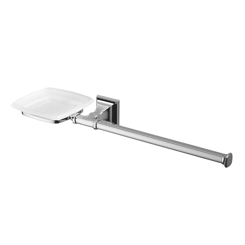 Полотенцедержатель + мыльница Colombo Design Portofino B3274 SX Хром