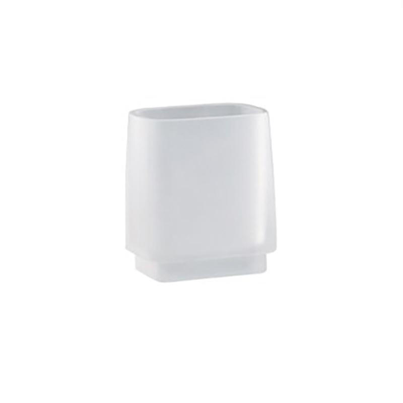 Стакан для зубных щеток Colombo Design Time W4241.000 Белый стакан для зубных щеток colombo design time w4202 000 хром