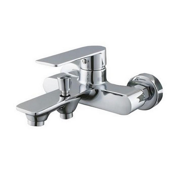 Смеситель для ванны GPD Provido MBB155 Хром смеситель для кухни gpd provido mte155 хром