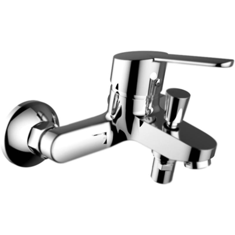 Смеситель для ванны Clever S12 Urban 98332 с душевым гарнитуром Хром смеситель для кухни clever s12 urban 98334