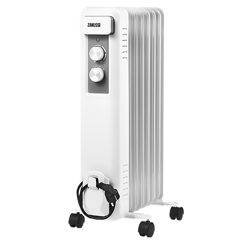 цена на Масляный радиатор Zanussi Casa ZOH/CS - 07W 7 секций Белый