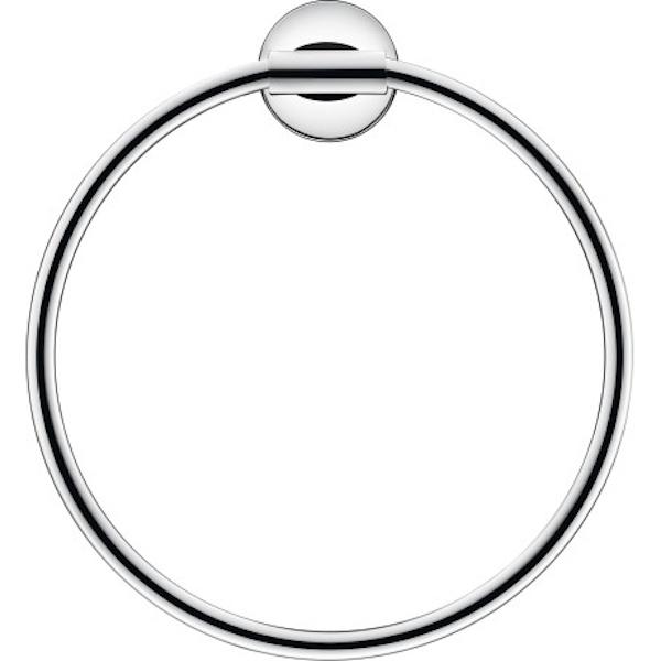Фото - Кольцо для полотенец Duravit Starck T 0099471000 Хром полка для полотенец 61 см duravit starck t 0099444600