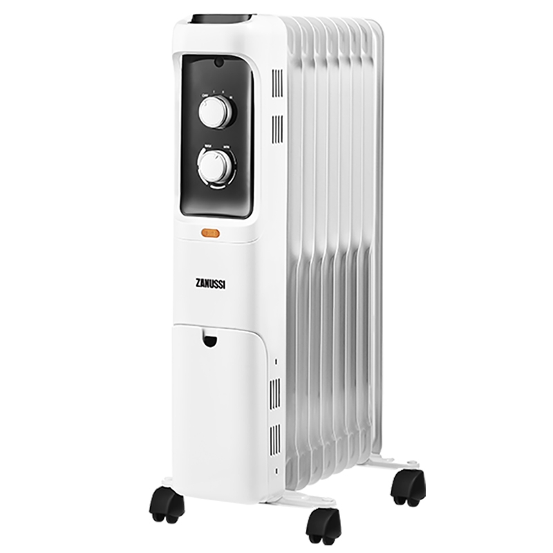 цена на Масляный радиатор Zanussi Loft ZOH/LT-09W 2000W 9 секций Белый
