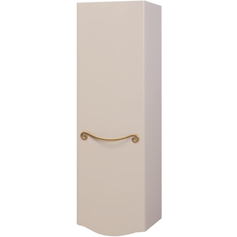 Шкаф пенал Bellezza Сесилия 40 подвесной L Белый шкаф пенал bellezza рокко 35 подвесной красный белый
