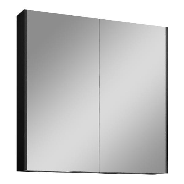 Зеркальный шкаф Velvex Klaufs 80 zsKLA.80-217 Черный