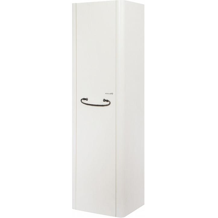 Шкаф пенал Bellezza Рикарда 40 подвесной R Белый шкаф пенал bellezza рокко 35 подвесной красный белый