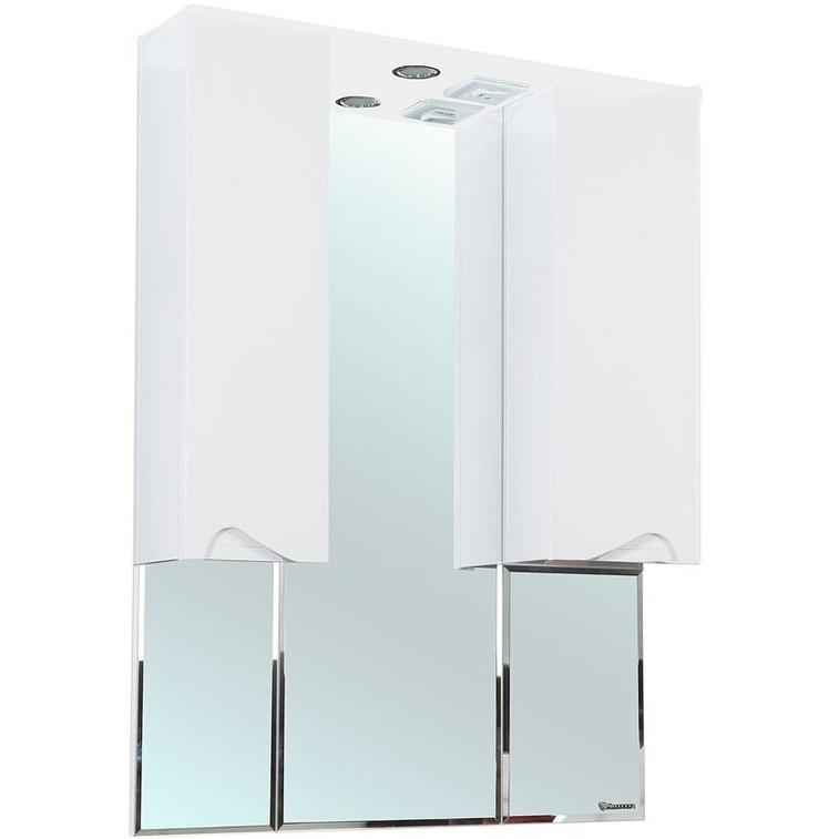Зеркальный шкаф Bellezza Эйфория 100 с подсветкой Белый зеркальный шкаф bellezza миа 85 с подсветкой l белый