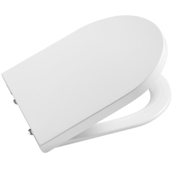 Крышка-сиденье для унитаза Roca Inspira 80152C00B Белая с микролифтом