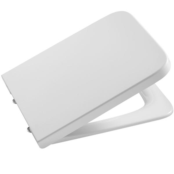 Купить Крышка-сиденье для унитаза, Inspira 80153200B Белая с микролифтом, Roca, Испания