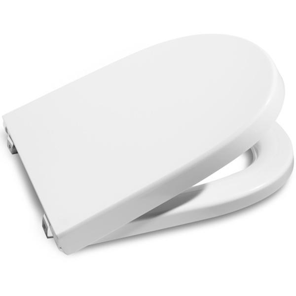 Фото - Сиденье для унитаза Roca Meridian 8012A200B Белая с микролифтом сиденье roca 8012a200b