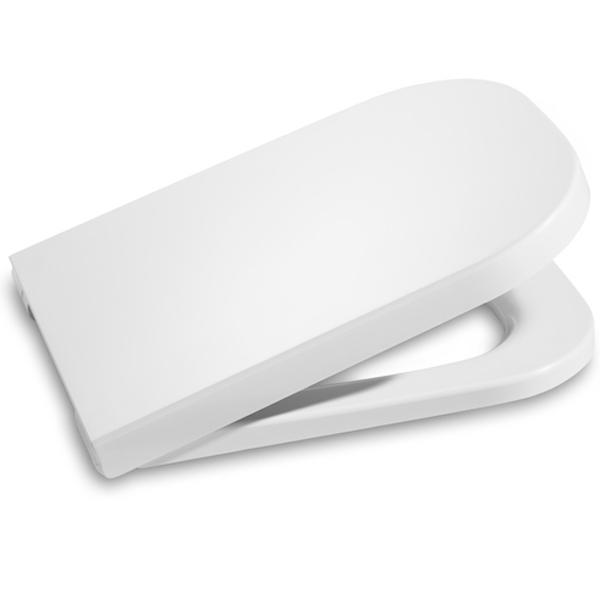 Крышка-сиденье для унитаза Roca The Gap 801732004 Белая с микролифтом цена 2017