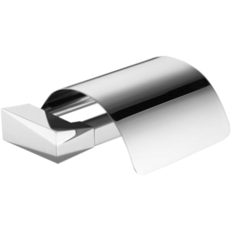 Держатель туалетной бумаги Clever Ventu 99475 с крышкой Хром держатель туалетной бумаги clever urban2 98652 хром