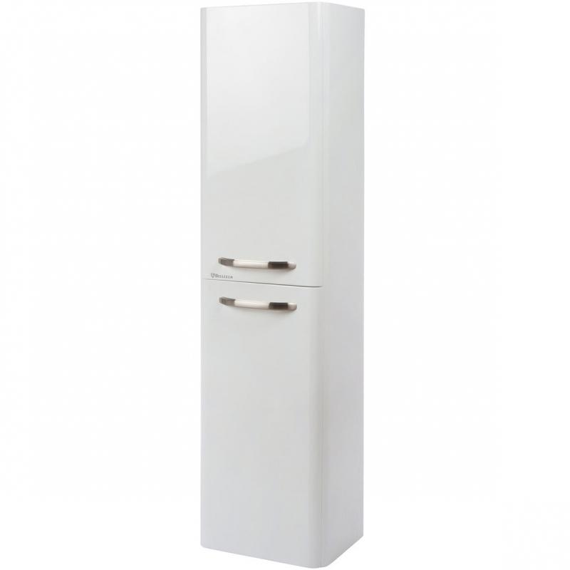 Шкаф пенал Bellezza Олимпия 35 подвесной L Белый шкаф пенал bellezza рокко 35 подвесной красный белый