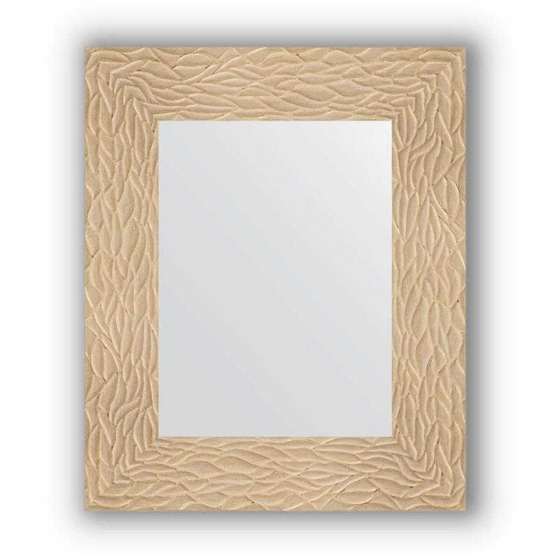 Зеркало Evoform Definite 56х46 Чеканка серебряная