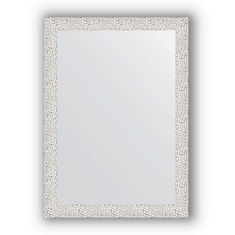 Зеркало Evoform Definite 71х51 Волна алюминий