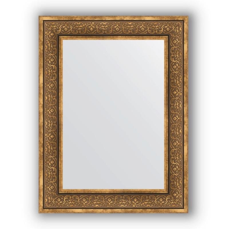 Зеркало Evoform Definite 83х63 Вензель бронзовый зеркало evoform definite 153х63 вензель бронзовый