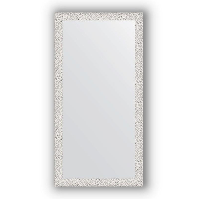 Зеркало Evoform Definite 101х51 Волна алюминий
